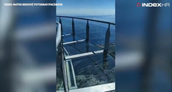 """I wouldn't have the guts"": A man walks down the Biokovo skywalk, check out the video"