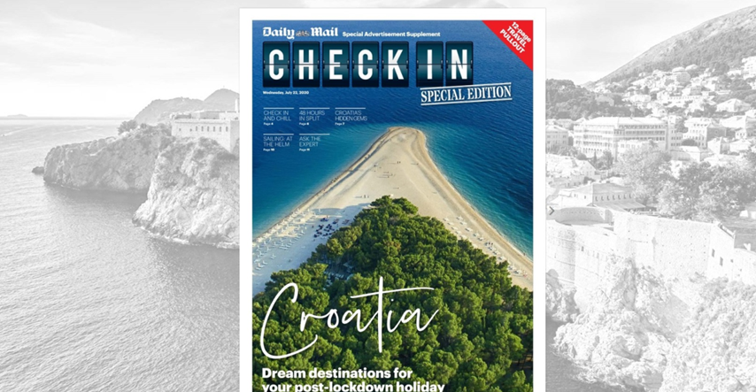 British Daily Mail about Croatia: Dream destination for post-lockdown holiday