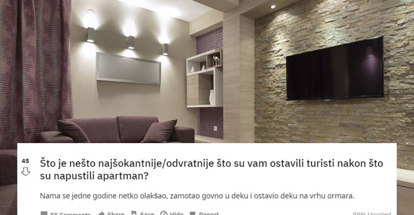 Croats reveal the most shocking things tourists leave in rented apartments