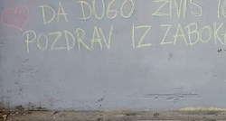 New graffiti for Djokovic crops up in Croatia, here's what the message says