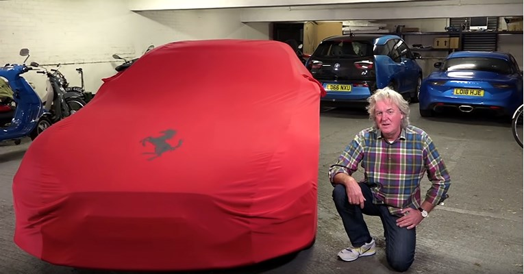 VIDEO James May ima novi auto, nije Ferrari