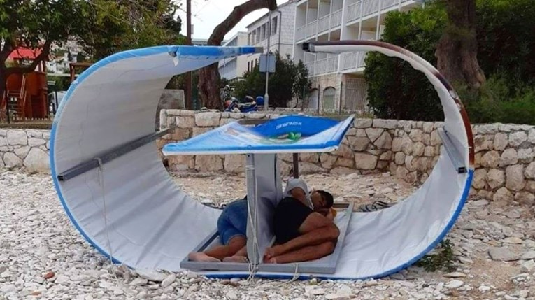 """A photo of an """"apartment"""" on Hvar became a hit on Facebook: """"They did great"""""""