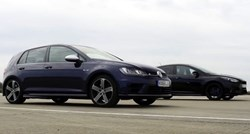 Dvoboj najboljih: VW Golf R vs Ford Focus RS