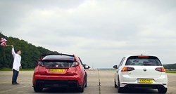Honda Civic Type R vs VW Golf R