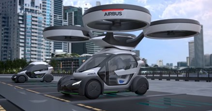 VIDEO Airbus predstavio leteći automobil