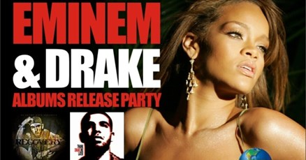 RNB Confusion: Drake&Eminem album release party