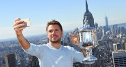 VIDEO Wawrinka na vrhu SAD-a: Najprije selfie!