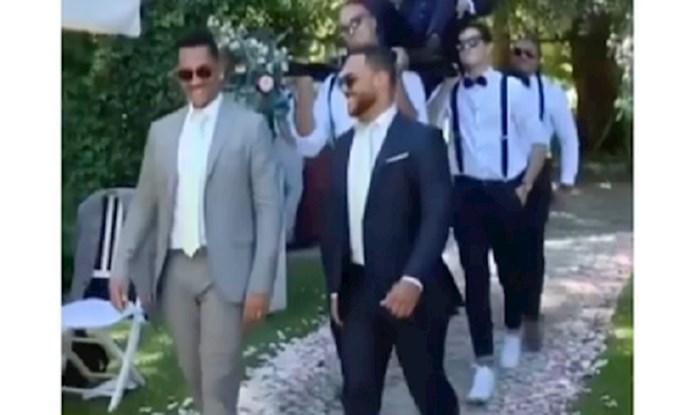 Mladoženja i njegova ekipa napravili show svojim ulaskom na vjenčanje; podsjetit će vas na nekoga!