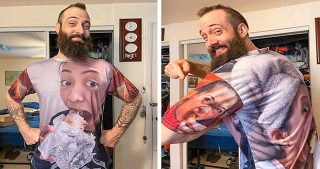 """""""Napravio je majicu s mojim najružnijim slikama i sada je ne skida sa sebe"""""""