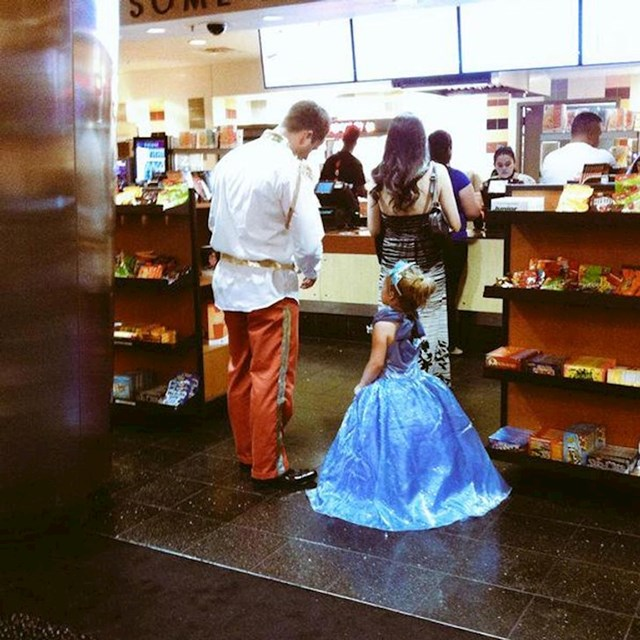 Tata i njegova princeza