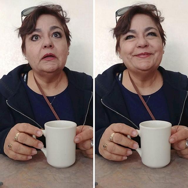 Moja žena prije i nakon što joj kažem da je volim