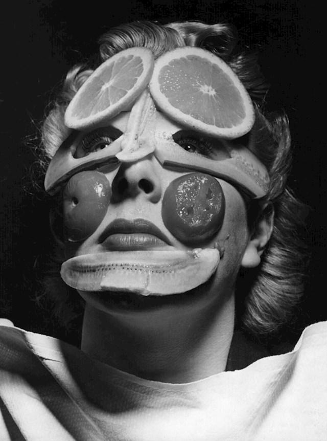Maske za lice onda i danas