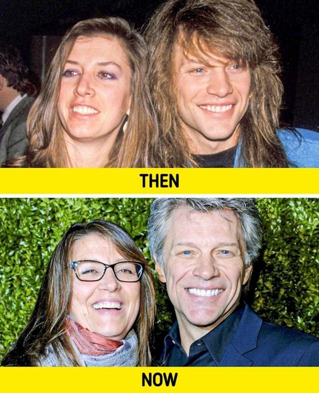 Jon Bon Jovi i Dorothea Hurley