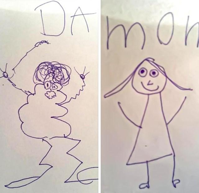 """""""Kako moje dijete vidi mene, a kako mamu"""""""