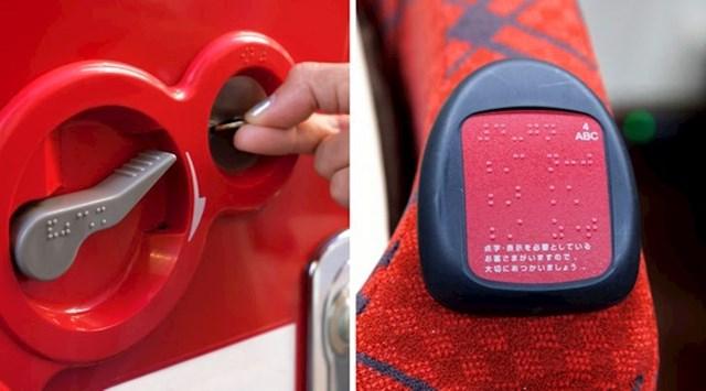 Brailleovo pismo na predmetima koji se svakodnevno upotrebljavaju