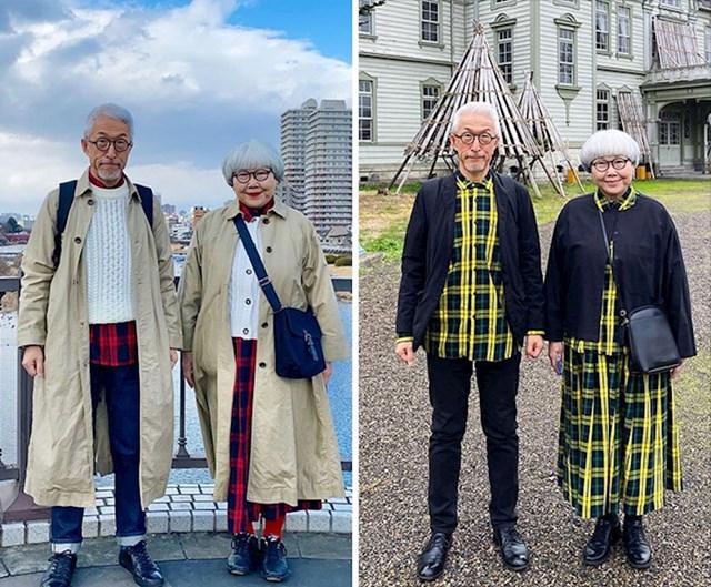 Modno usklađeni par iz Japana