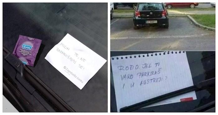 Najsmješnije poruke na autima i nekoliko lijepih gesta koje vraćaju vjeru u ljude