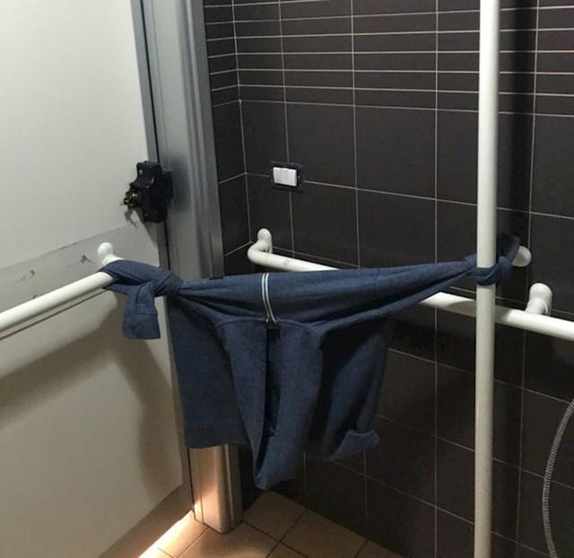 Kada se vrata WC-a nisu mogla zatvoriti