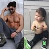 Mališan oponaša fotke svog ujaka, uspješnog modela, i sad se ne zna tko je veća zvijezda