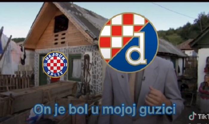 Netko je na TikToku napravio video montažu koja će razljutiti navijače Hajduka