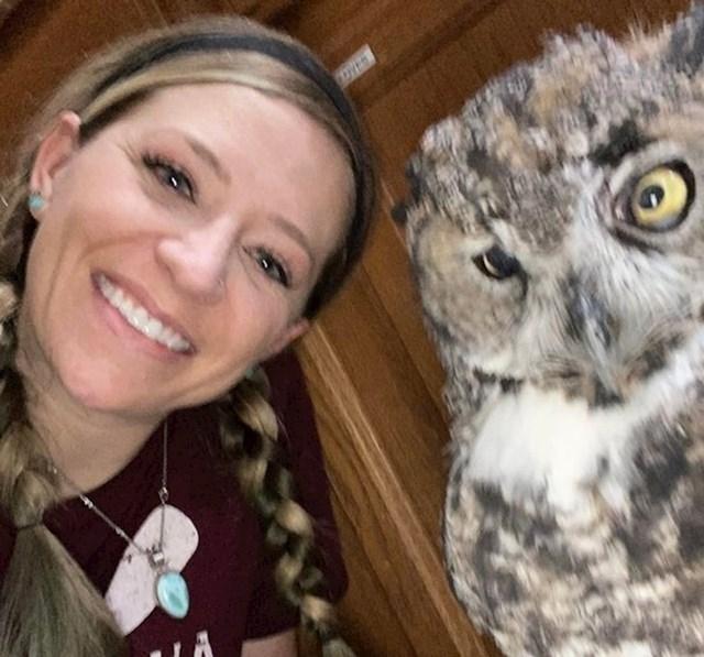 """""""Morala sam dati otkaz kao veterinarski tehničar zbog alergije na životinjsku dlaku koju sam razvila. Danas se bavim spašavanjem ptica grabljivica"""""""