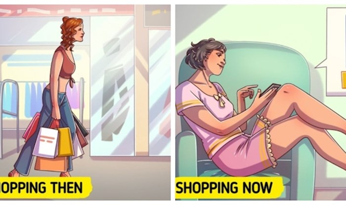 12 ilustracija koje prikazuju koliko se promijenio život cura u zadnjih 20 godina