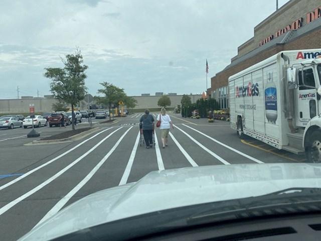 """""""Već duže od minutu nonšalantno šetaju po sredini ceste dok ja vozim iza njih. Ima li išta gore od ovakvih pješaka"""""""