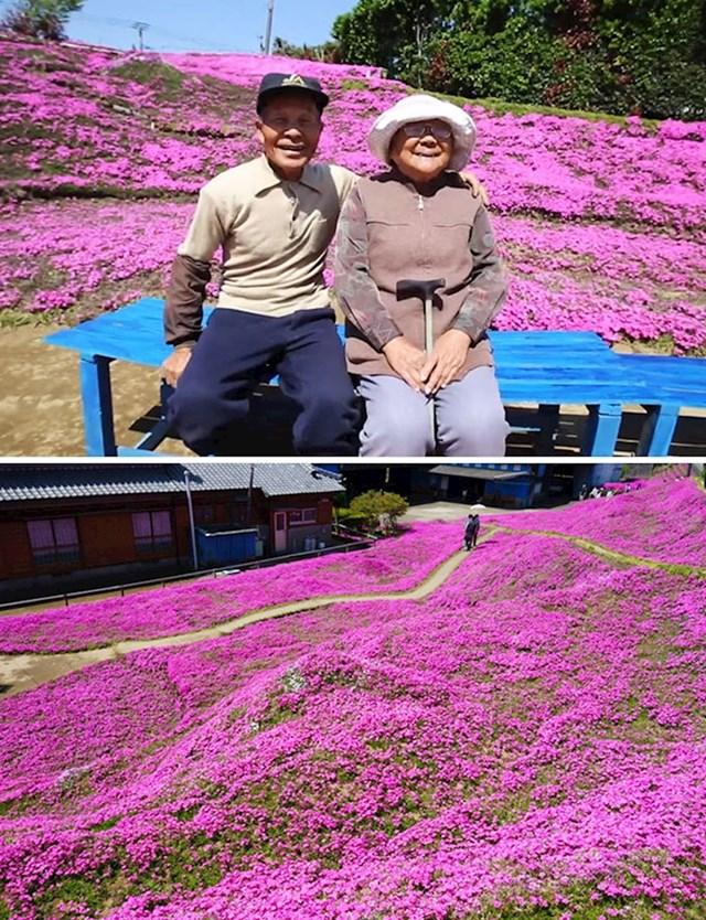 Kada mu je žena oslijepila, upala je u depresiju. Svaki dan je sadio cvijeće i brinuo o njemu nadajući se da će ju miris i svježina cvijeća trgnuti iz depresije. I uspio je!