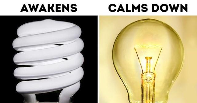 Izbjegavajte fluorescentna svjetla prije spavanja, a koristite žuta i narančasta svjetla koja ne utječu negativno na sintezu melatonina- hormona spavanja.