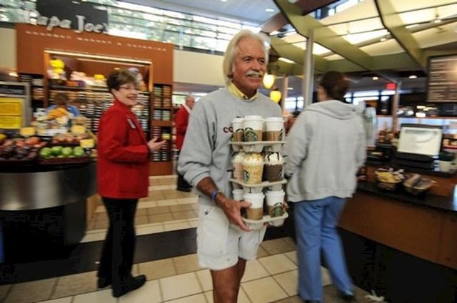Svakog utorka ovaj čovjek kupuje kavu za onkološki odjel bolnice koja je spasila život njegovog oca