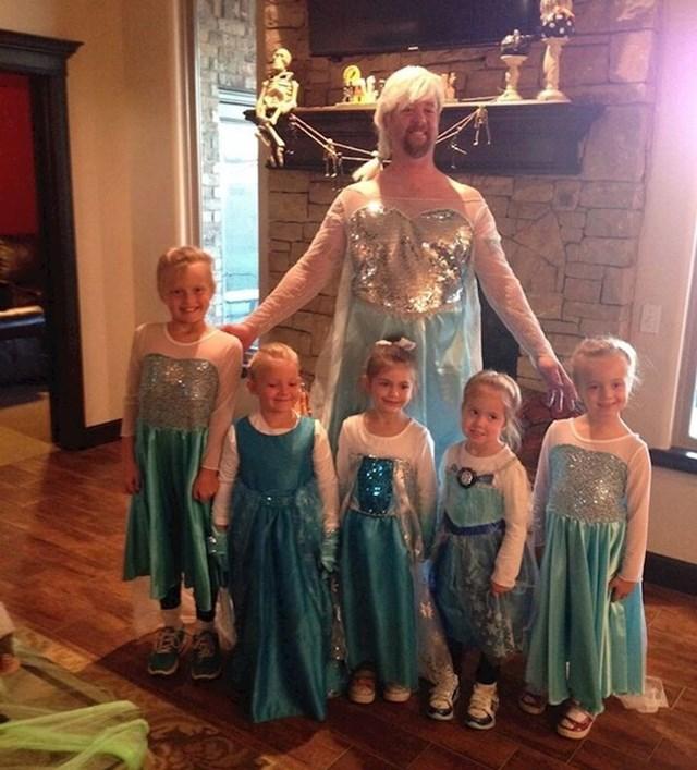 Ovako izgleda karneval kada imaš pet curica
