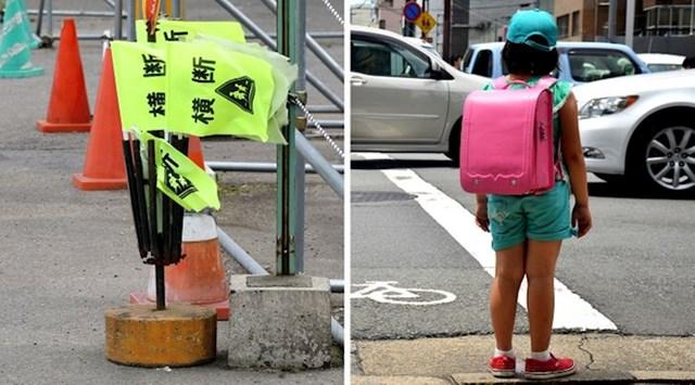 Zastavice za lakši prelazak prometnih cesta