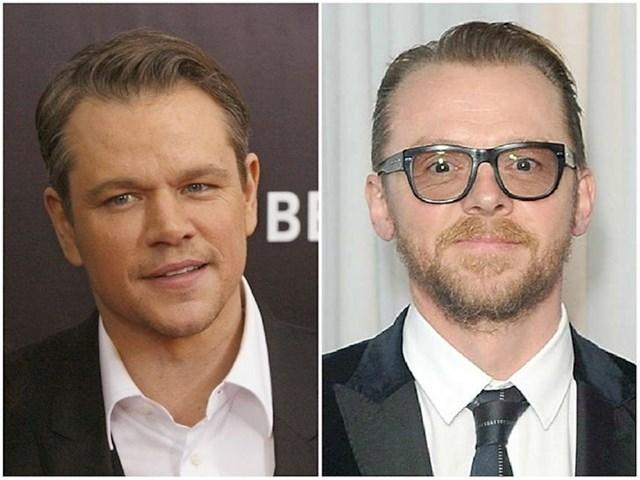 Matt Damon i Simon Pegg — 51 godina