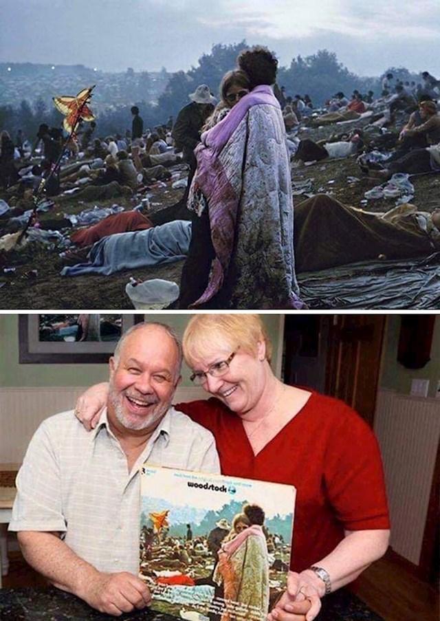 Poznata fotka para s Woodstocka koja je obišla svijet. I oni 50 godina nakon!
