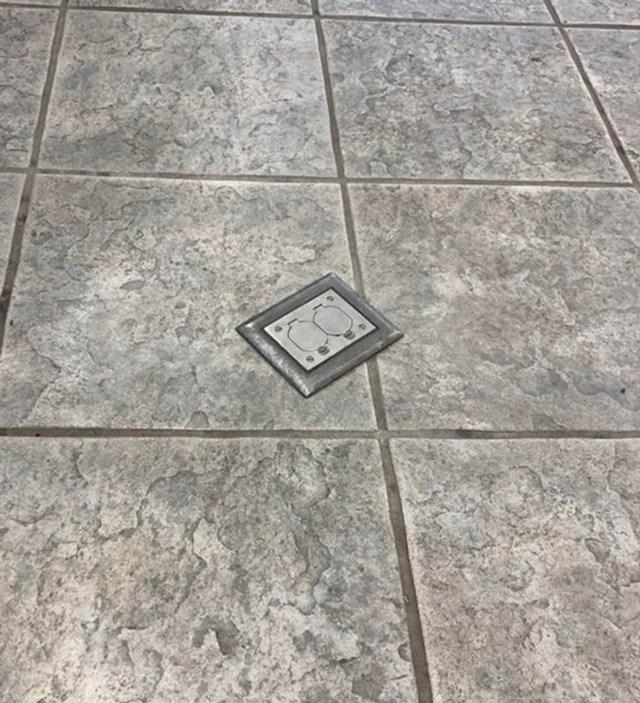 4. Utičnice u podu??