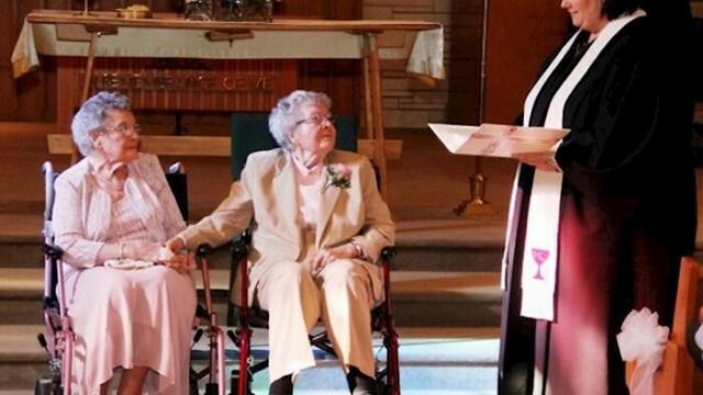 """Sklopile su brak u 91. godini života, nakon što su čak 72 godine bile """"samo"""" u vezi"""