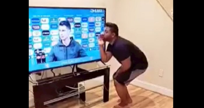 VIDEO Tip otkrio gdje je nestala Coca-Cola koju je Ronaldo pomaknuo na presici; predobar je!
