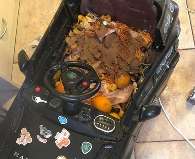 """11. pravilo- napravi veeeliki ručak za svoju obitelj! Stavite sve što nađete u hladnjaku i oko njega u automobil za ukusnu """"juhu od auta"""""""