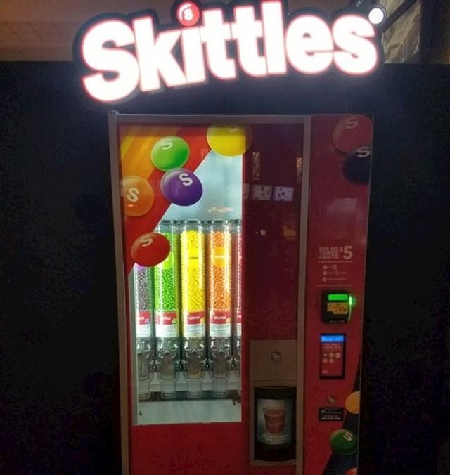 A i Skittles možete kombinirati kako baš vi volite!