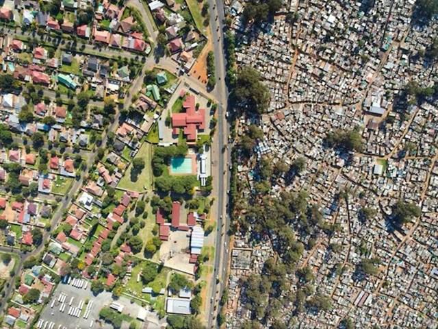 Razlike u staležima u Južnoafričkoj Republici