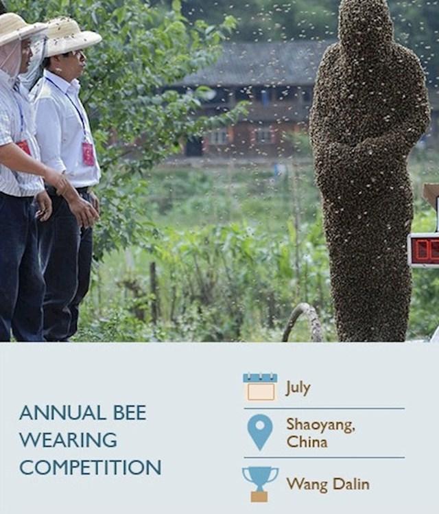 Natjecanje u nošenju pčela