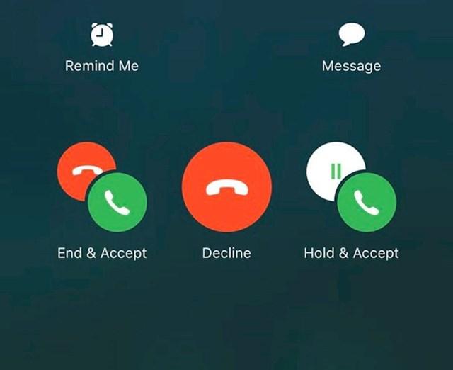 """""""Kako iživcirati milijune i milijune korisnika jednim potezom. Dok shvatiš koju opciju želiš, mobitel prestane zvoniti"""""""