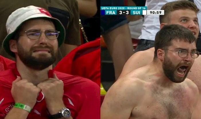 Najpoznatiji švicarski navijač sada je i kralj memeova; jedan će posebno nasmijati Hrvate!