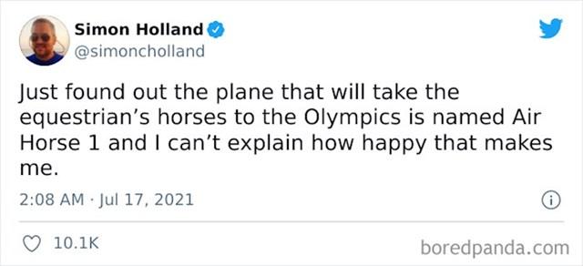 8. Nije Air Force, ali je Air Horse i to nas jako usrećuje 🤣