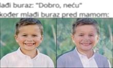 Umrijet ćete od smijeha kada vidite u koga se pretvori ovaj dječak kada cinka brata roditeljima