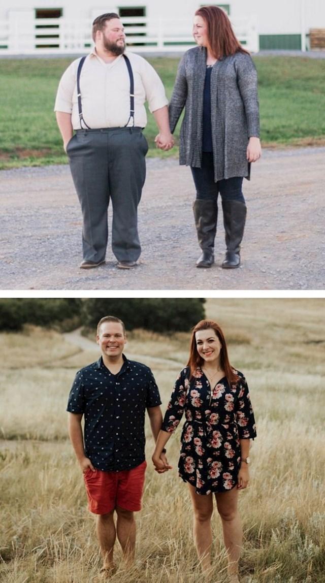 Bračni par se međusobno motivirao proteklu godinu i isplatilo se