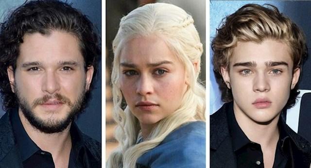 Jon Snow i Daenerys Targaryen, Igra prijestolja