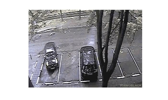 Pogledajte kako se ova osoba namučila s parkiranjem na praznom parkingu i što se dogodilo na kraju;
