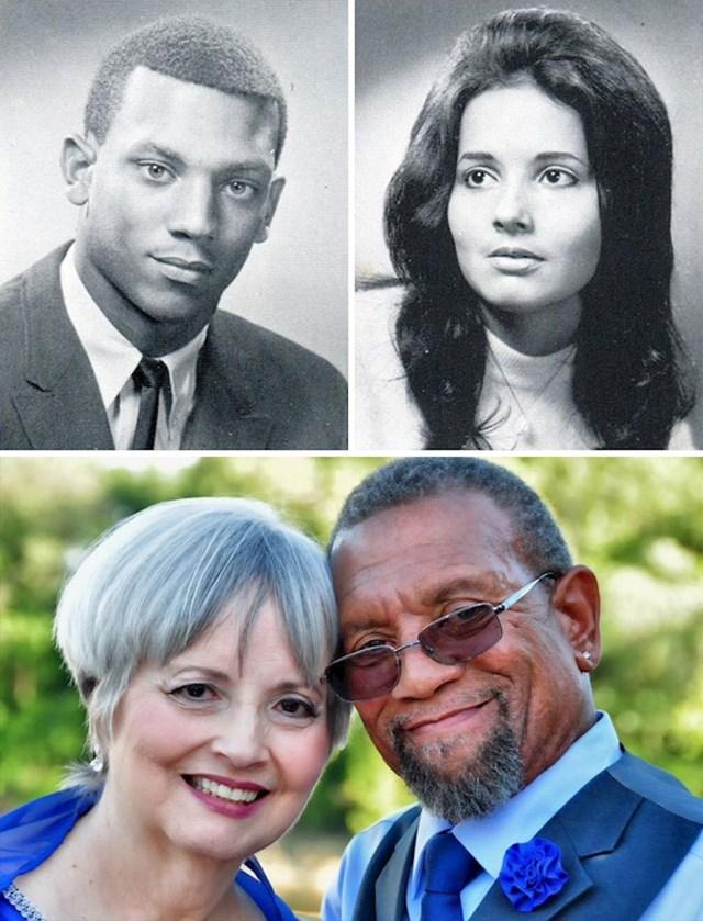 45 godina nakon što su rasizam i netolerancija prekinuli njihovu mladenačku vezu, ovaj par se ponovno spojio i sada svaku večer zaspu jedno drugom u zagrljaju