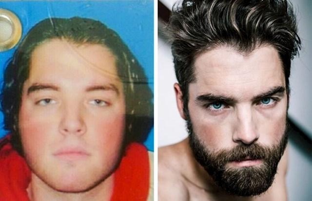 """""""Fotka s prve osobne i danas- s prvog photoshootinga ikad iako sam već zagazio u tridesete!"""""""